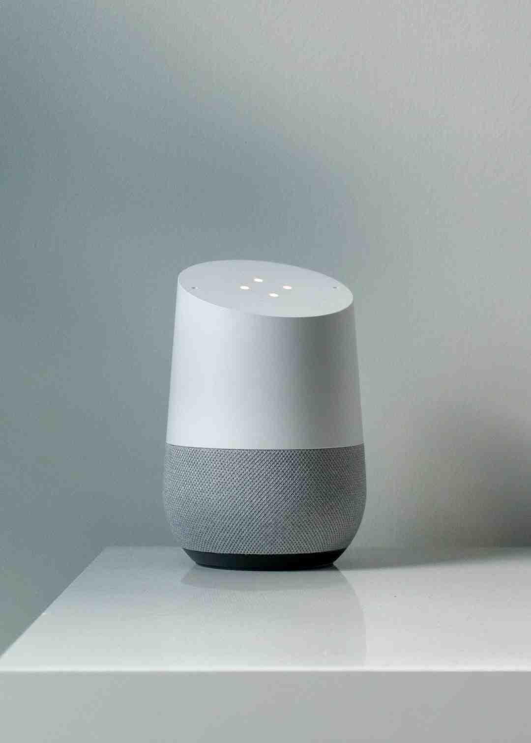 Comment paramétrer google home